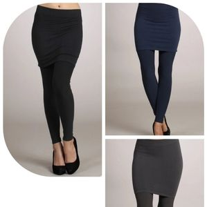 3 pairs of M. Rena skirt leggings